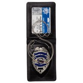 Badge Holder - Shield w/ ID Case w/ Chain - Magnetic