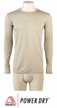 GEN III ECWCS  Level I: Light-Weight Undershirt or Drawers