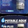 Potable Aqua Water Purification Tablets - 25 Qts