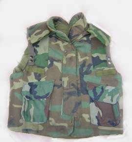 Fragmentation Protective Body Armor Vest