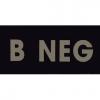 IR Blood Type B Negative Tan (IR-4025-BN)