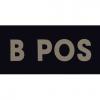 IR Blood Type B Positive Tan (IR-4025-BP)