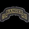 0075 Ranger Regt HQ Scroll  (PMV-0075C)
