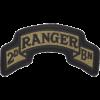 0075 Ranger Regt 2 Bn Scroll (PMV-0075E)