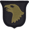 0101 Airborne Division Scorpion Patch with Fastener (PMV-0101A)
