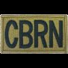 Chemical Brassard Scorpion Patch with Fastener (PMV-CBRN)