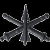 Black Metal Air Defense Artillery