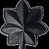 Black Metal Rank BM-120 Lieutenant Colonel