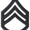 Black Metal Rank BM-106 Staff Sergeant (E-6)