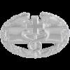 Black Metal Badge Combat Medical