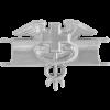 Black Metal Badge Expert Field Medical