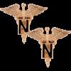 No-Shine, Nurse and Nurse Officer (Pair)