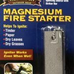 Red Rock Magnesium Fire Starter